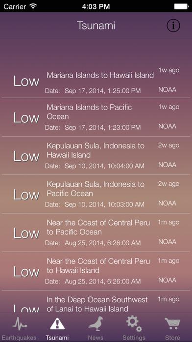 Earthquake Tsunami Pro screenshot