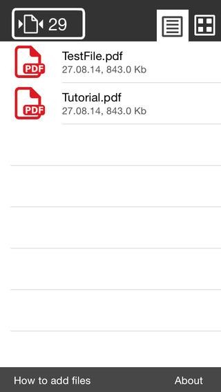 Shuffle Scan PDF Simple Reader Viewer