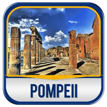 Pompeii Guide LOGO-APP點子