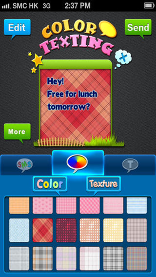 ColorText SMS