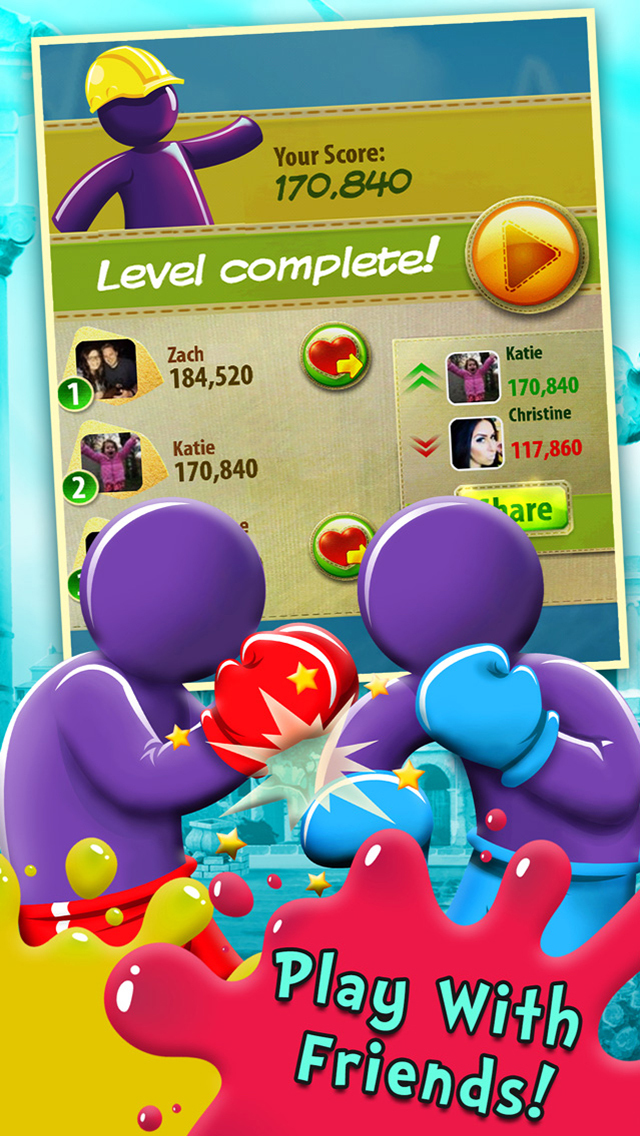 Gummy Drop!  Screenshot