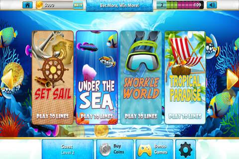 Mr Fish Craze Lucky Slots - Free Xtreme Las Vegas Casino with Bonus Games screenshot 2