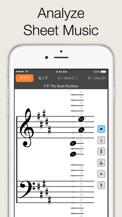 Reverse Chord Finder Pro - Inverse Chord Dictionary for Songwriters, Musicians, Composers and Music Students iPhone Screenshot 3