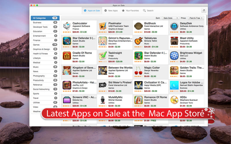 Apps On Sale Screenshots