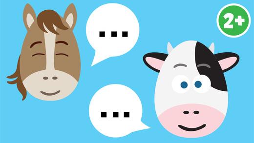 Farm Animals Cartoon Sound Puzzle Free