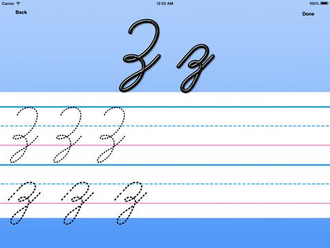 Letter Master: learn to write the alphabet handwriting worksheets for toddlers and children HD