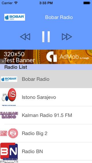 Bosanski Radio – Radio Free Bosanci - Bosnian radios