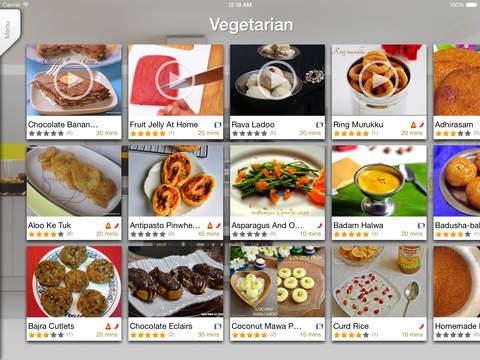 Sweet'N'Spicy Indian Recipes iPad Screenshot 3