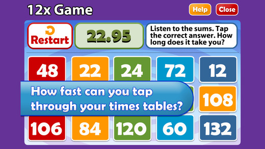 math songs times tables 7x 12x on the app store