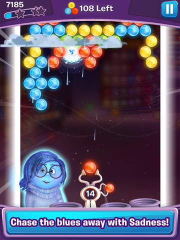 Screenshots of Inside Out Thought Bubbles for iPad