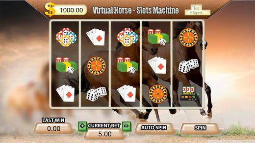 Virtual Horse Slots Machine - FREE Las Vegas Casino Spin for Win