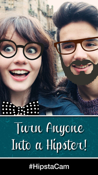 HipstaCam: Turn Your Friends Into Hipsters