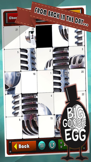 Retro Pics Photo Slide Puzzle