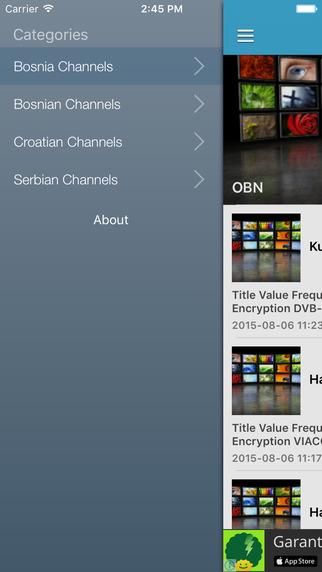 Bosnia TV Channels Sat Info