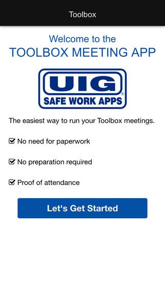 Toolbox Meetings