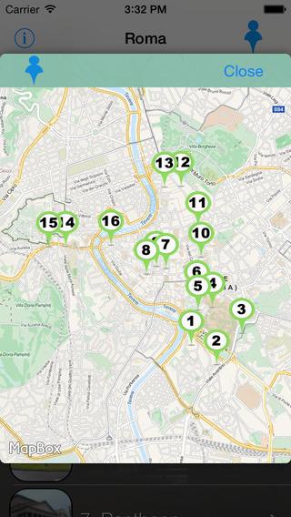Roma Giracittà - Audioguida iPhone Screenshot 3