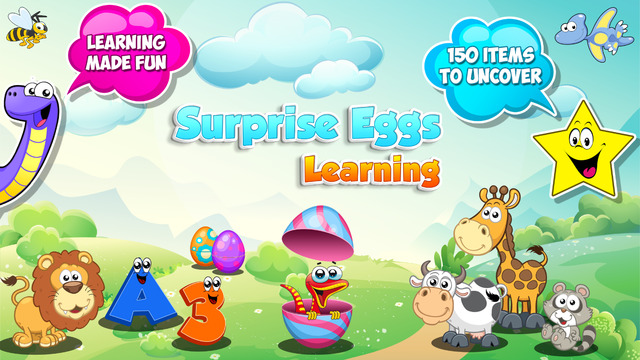 Surprise Eggs Learning