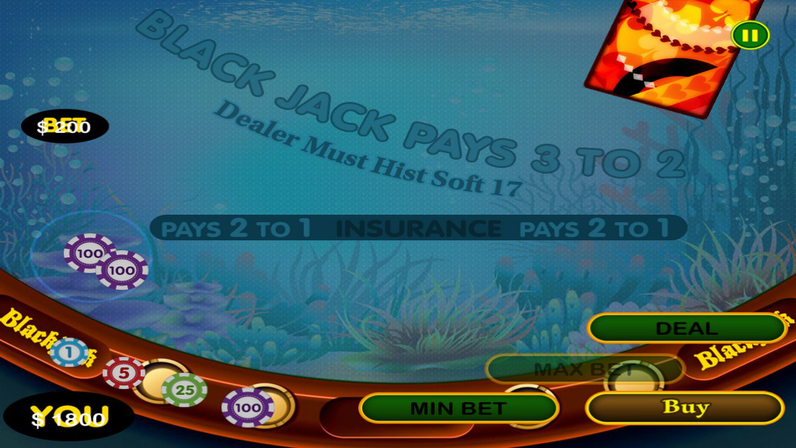 App shopper all new 2 1 big gold fish shark blackjack for Gold fish card game