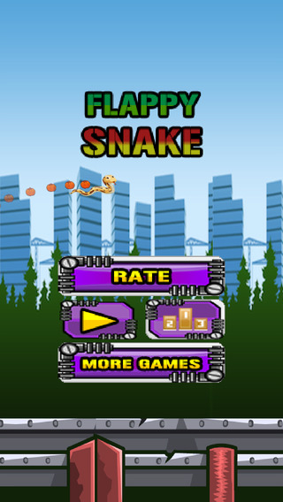 AA+ Flappy Snake city Adventure