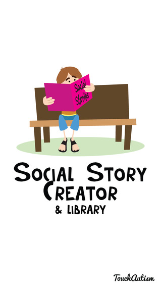 Social Stories Creator and Library for Preschool Autism and Special Needs