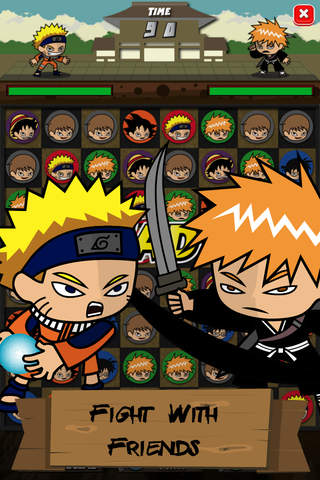"Manga Battle ""Match Puzzle"" screenshot 3"