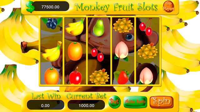 AAA Monkey Fruit Slots