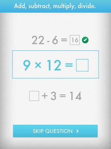 Quick Math - Multiplication Table & Arithmetic Game screenshot