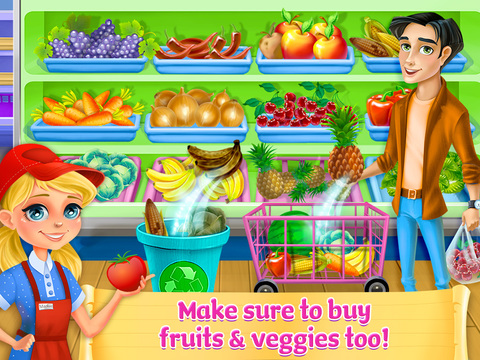 Supermarket Girl – Shopping Fun!