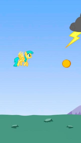 Small fluffy pony