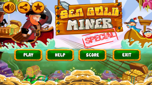 Sea Gold Miner : Special