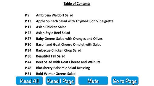 Low Calorie Salad - Audio Recipe