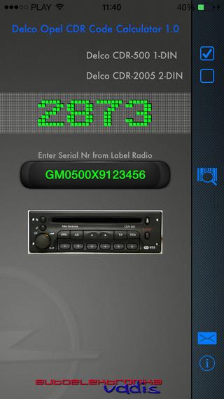 DelcoCode Calculator