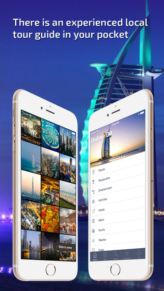 Dubai Travel Guide offline map