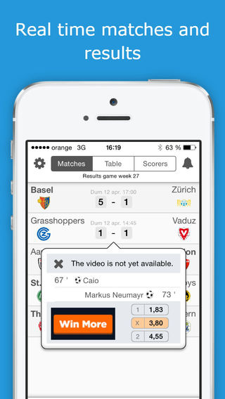 Super League - Switzerland Football League - PRO Version