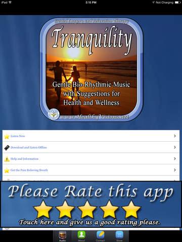 玩免費健康APP|下載Tranquility for iPad app不用錢|硬是要APP