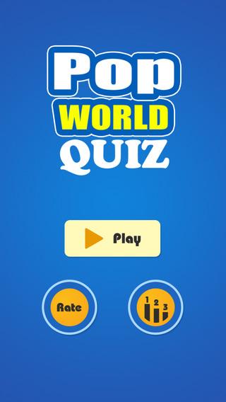 Best for Pop World Quiz