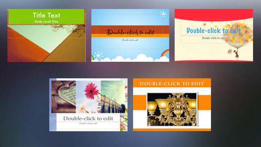 Template Set for iWork