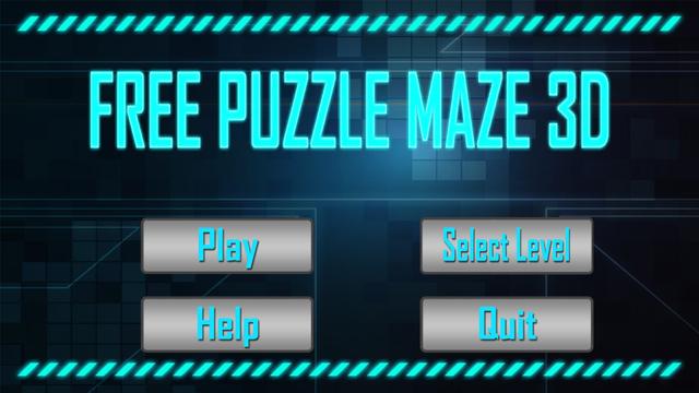 Free Puzzle Maze 3D