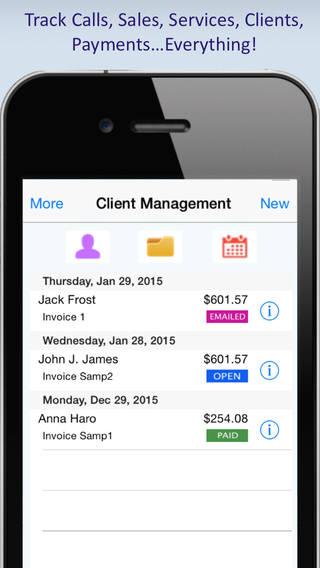 Client Management Billing Invoicing CRM Solution for Service Providers