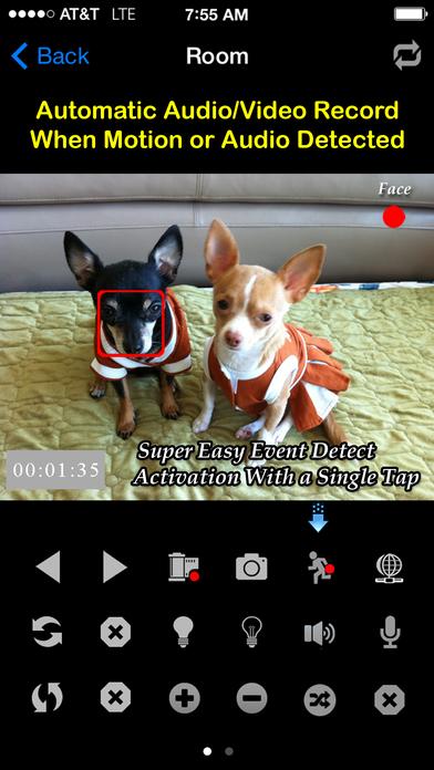 uCamPro: IP Camera & Webcam Viewer iPhone Screenshot 2