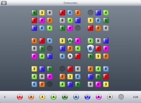 Colouroku iPad Screenshot 1
