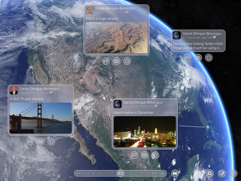 Earth Net - The beautiful Twitter client