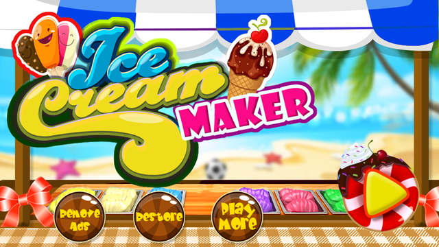 Ice cream maker kitchen - icecream cooking game for crazy chefs