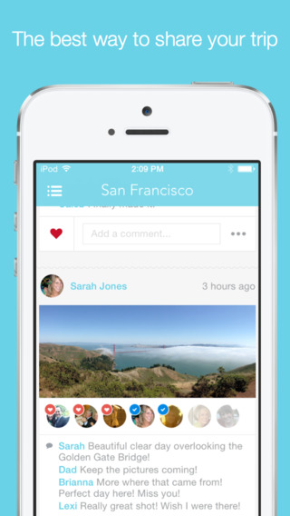 Tripcast - A living travel journal for your friends back home