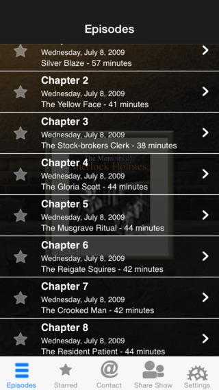 Memoirs of Sherlock Holmes iPhone Screenshot 2