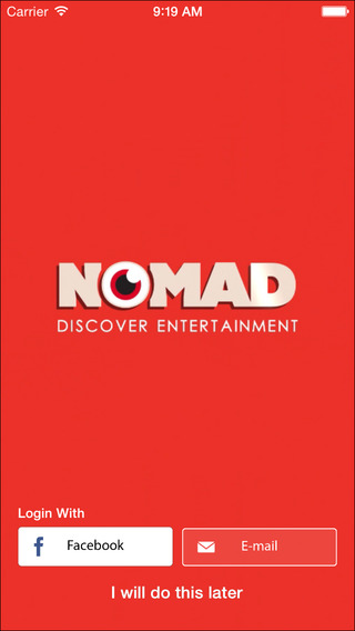 Nomad - Discover Entertainments