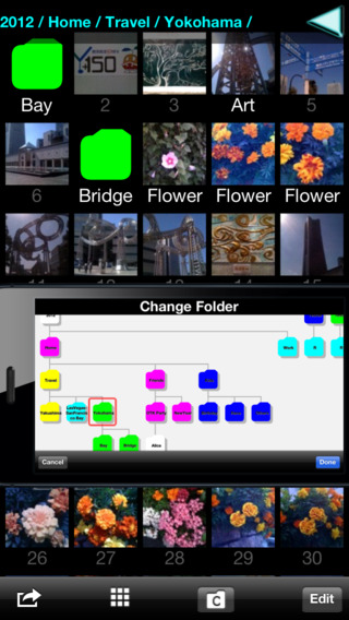 Photo Folder for iPhone Lite2