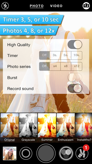 SelfTimer Cam - Effect Camera with self-timer function