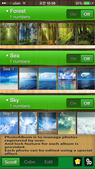 EzAlbum - For amazing photo album by user.