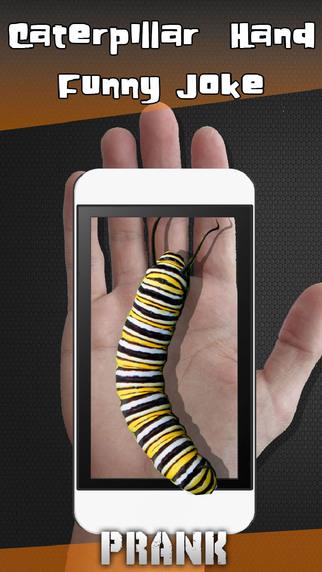 Caterpillar Hand Funny Joke